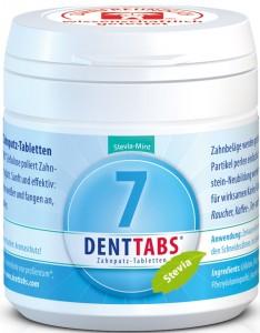 DENTTABS-Zahnputztablette Stevia-Mint 125 Spiegelfrei