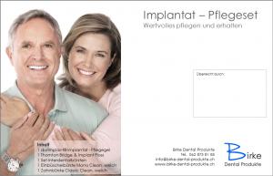 Implantat - Pflegeset