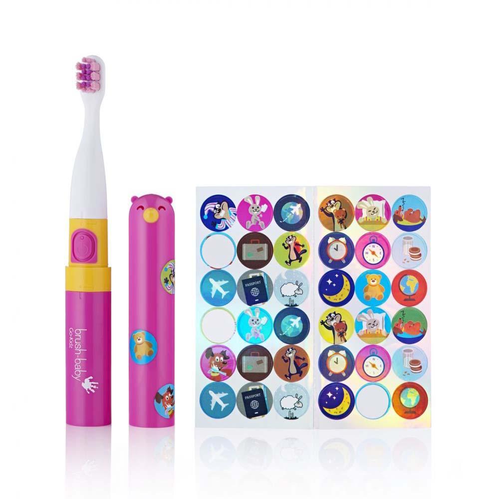 3 St/ücke Baby Zahnb/ürste Baby Zungenreiniger Mundpflege Set Zahnpflege f/ür 0-36 Monate Baby Blau BPA FREI