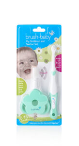 First Brush & Teether Set